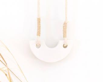 Lunar Adobe Necklace
