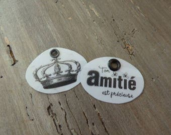 """Duo of labels """"friendship and Crown"""" metal"""
