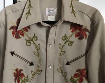 Vintage H-Bar Western Shirt