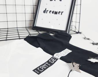 Original BabyGro Baby Vest | I Can't Get No Sleep Bodysuit | UK Made | New Baby Gift | Baby Boy | Baby Girl | Newborn Gift | Baby Shower
