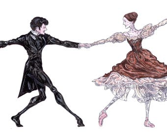 Onegin and Tatiana