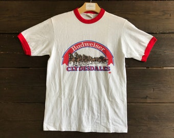 Vintage 80s Budweiser Graphic Tee