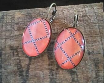Powder Pink earrings