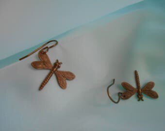 Solid Brass Dragonflies, Nickel & Lead Free!