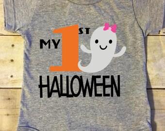 My First Halloween bodysuit | halloween ghost bodysuit| halloween shirt