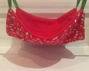 Red Candy Cane Single Flat