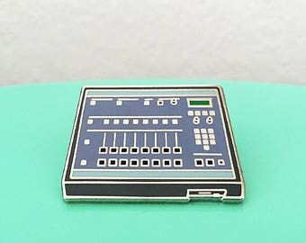 E-Mu SP-1200 Drum Machine Enamel Pin