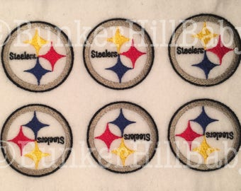 STEELERS Football Pittsburgh 6 piece uncut