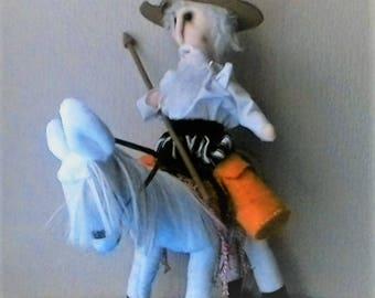 Don Quixote and Rocinante