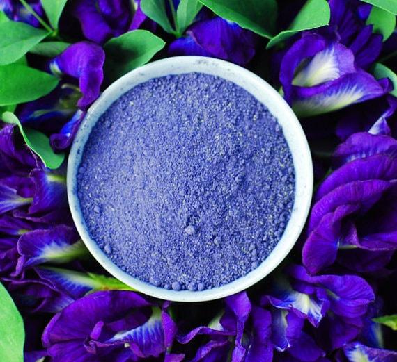 Organic Blue Butterfly Pea Flower Powder Natural Powder Food