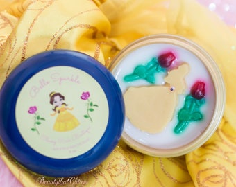 Belle Sparkle brush soap ( beauty and the beast)