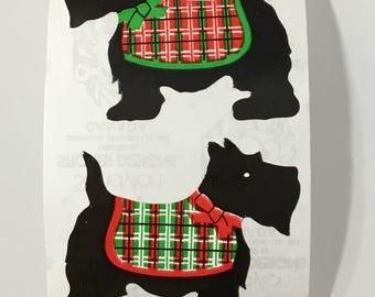 Vintage Sandylion Scottish Terrier Dog Stickers