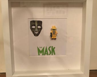 Lego minifigure picture - The Mask
