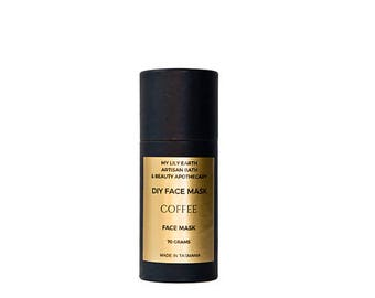 Coffee gentle exfoliating face mask