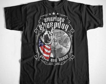 T-Shirt American Sheepdog 2