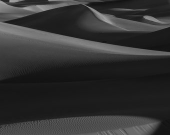 Lines in the sand, Death Valley