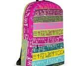Egyptian hieroglyphs No2, Backpack, School Bag, Shoulder Bag, Travel Bag, Laptop Bag, Sport Bag, Laptop Backpack, Backpack SALE