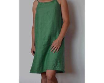 Summer dress, Linen dress, Sleeveless dress, Linen dresses for women, Linen clothing,Dress for summer, Plus size dress, Linen clothes