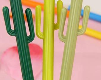 Cactus pens - set of 3
