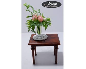 Miniature occasional small table, 1:12 scale