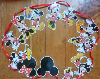Mickey & Minnie Mouse Bunting