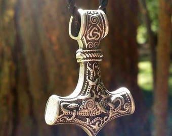 Thor's Hammer Mjolnir Pendant