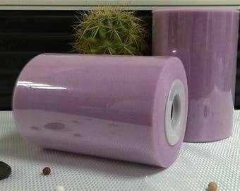 sale! Tulle roll high quality purple 15 cm x 82 m for tutu and decoration.