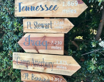 One arrow directional sign