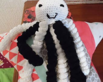 To order!  Cuddly stuffed Octopus