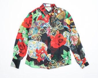 ICEBERG - Transparent silk shirt