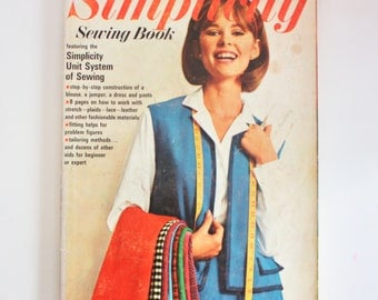 1965 Simplicity Sewing Book- 176 pages of clothing construction knowledge!