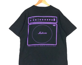 Rare! Japanese Brand Narcotic Tee XL Size