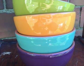 Set of 4 Bobby Flay plancha bowls