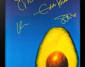 Pearl Jam Signed Poster - Custom Framed