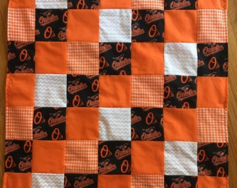 Orioles Baby Blanket