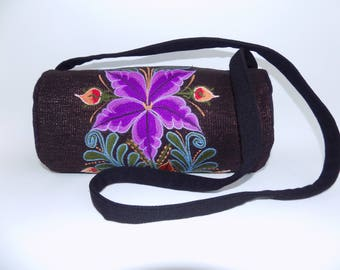 embroidery crossbody bag, embroidery crossbody purse, messenger bag, embroidery bag, Embroidered  Bag, mexican bag, mexican bags