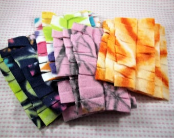 Set of 4 Fleece Dusters, Washable Dusting Cloth, Washable Duster Fits Swiffer Duster