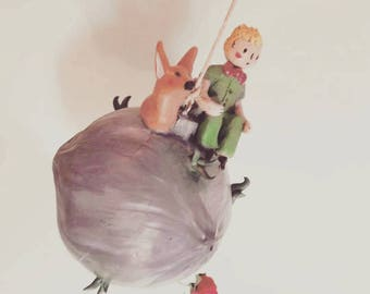 Little Prince Planet Figure Mobile