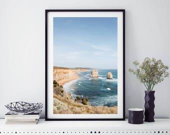 TWELVE APOSTLES, AUSTRALIA. Landscape photography for canvas/poster/print