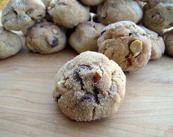 Chocolate Pretzel Peanut Cookies, 1 1/2 Dozen, Homemade Cookies, Chocolate Chip Cookies