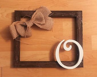 Initial Decorative Frames/Wall Hang