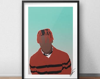 Lil Yachty INSPIRED Print / Poster  - Digital Copy