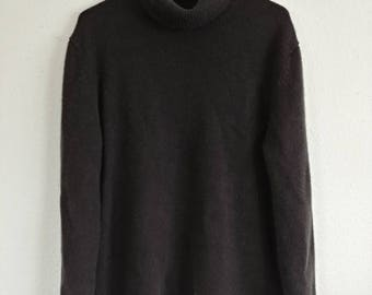 Vintage Espresso Brown Cashmere Sweater