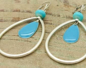Kit earrings ' turquoise earrings