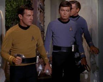 Belt Star Trek TOS Phaser communicator utility belt- leather