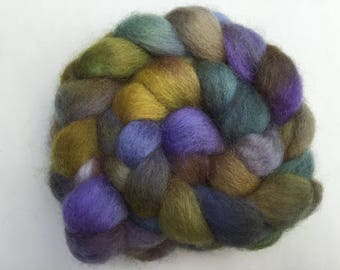 Hand Dyed Finnish wool tops