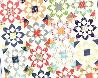 Fireworks Quilt Pattern from Thimble Blossoms by Camille Roskelley