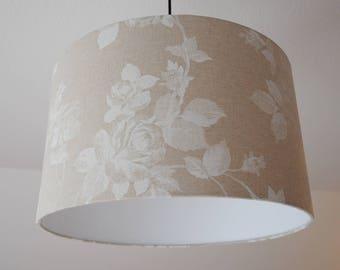 "Lampshade ""Roses"" (beige)"