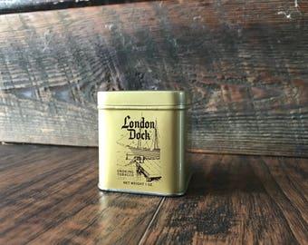 Original London Dock Smoking Tobacco Tin