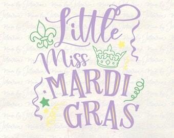 Mardi gras svg kid, little miss mardi gras, mardi gras svg baby, mardi gras svg girl, mardi gras svg shirt, mardi gras svg file, baby svg
